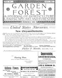 Garden and Forest Volume 6 Issue 263 Mar... by Charles S. Sargent
