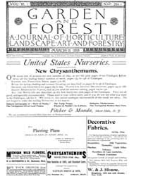 Garden and Forest Volume 6 Issue 264 Mar... by Charles S. Sargent