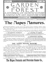 Garden and Forest Volume 6 Issue 265 Mar... by Charles S. Sargent