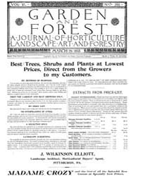 Garden and Forest Volume 6 Issue 266 Mar... by Charles S. Sargent