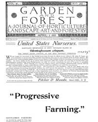 Garden and Forest Volume 6 Issue 267 Apr... by Charles S. Sargent