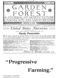 Garden and Forest Volume 6 Issue 269 Apr... by Charles S. Sargent