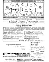 Garden and Forest Volume 6 Issue 271 May... by Charles S. Sargent