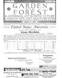 Garden and Forest Volume 6 Issue 273 May... by Charles S. Sargent