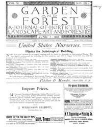 Garden and Forest Volume 6 Issue 276 Jun... by Charles S. Sargent