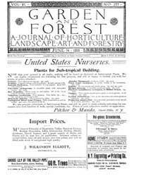 Garden and Forest Volume 6 Issue 277 Jun... by Charles S. Sargent