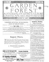 Garden and Forest Volume 6 Issue 278 Jun... by Charles S. Sargent