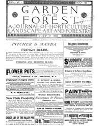 Garden and Forest Volume 6 Issue 281 Jul... by Charles S. Sargent