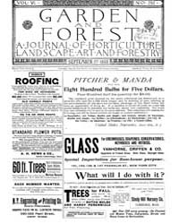 Garden and Forest Volume 6 Issue 292 Sep... by Charles S. Sargent