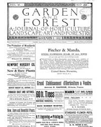 Garden and Forest Volume 6 Issue 298 Nov... by Charles S. Sargent