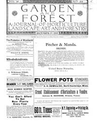 Garden and Forest Volume 6 Issue 305 Dec... by Charles S. Sargent