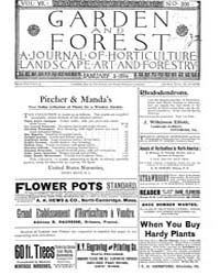 Garden and Forest Volume 7 Issue 306 Jan... by Charles S. Sargent