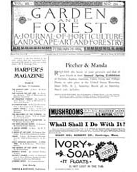 Garden and Forest Volume 7 Issue 314 Feb... by Charles S. Sargent