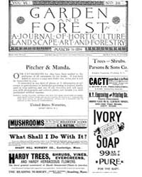 Garden and Forest Volume 7 Issue 316 Mar... by Charles S. Sargent
