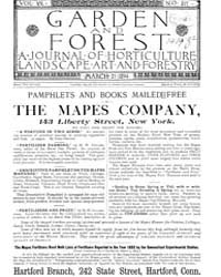 Garden and Forest Volume 7 Issue 317 Mar... by Charles S. Sargent