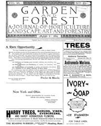 Garden and Forest Volume 7 Issue 324 May... by Charles S. Sargent