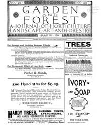 Garden and Forest Volume 7 Issue 325 May... by Charles S. Sargent
