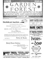 Garden and Forest Volume 7 Issue 327 May... by Charles S. Sargent