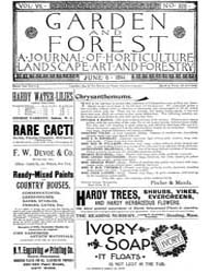 Garden and Forest Volume 7 Issue 328 Jun... by Charles S. Sargent