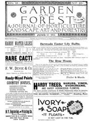 Garden and Forest Volume 7 Issue 329 Jun... by Charles S. Sargent