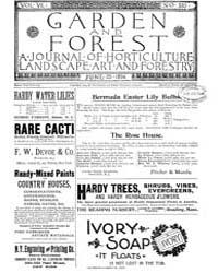 Garden and Forest Volume 7 Issue 330 Jun... by Charles S. Sargent