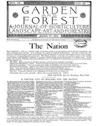 Garden and Forest Volume 7 Issue 331 Jun... by Charles S. Sargent