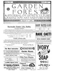 Garden and Forest Volume 7 Issue 332 Jul... by Charles S. Sargent