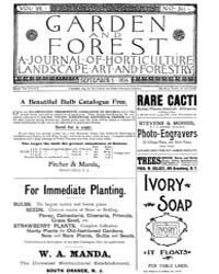 Garden and Forest Volume 7 Issue 341 Sep... by Charles S. Sargent