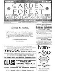 Garden and Forest Volume 7 Issue 343 Sep... by Charles S. Sargent