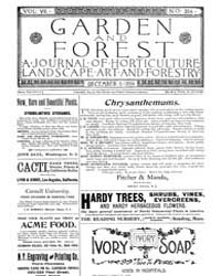 Garden and Forest Volume 7 Issue 354 Dec... by Charles S. Sargent
