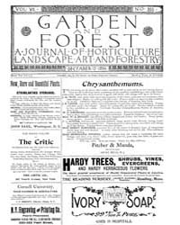 Garden and Forest Volume 7 Issue 355 Dec... by Charles S. Sargent