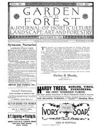 Garden and Forest Volume 7 Issue 357 Dec... by Charles S. Sargent