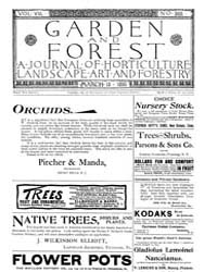 Garden and Forest Volume 8 Issue 368 Mar... by Charles S. Sargent