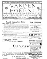 Garden and Forest Volume 8 Issue 380 Jun... by Charles S. Sargent