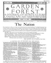 Garden and Forest Volume 8 Issue 382 Jun... by Charles S. Sargent