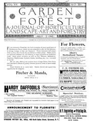 Garden and Forest Volume 8 Issue 384 Jul... by Charles S. Sargent
