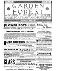Garden and Forest Volume 8 Issue 393 Sep... by Charles S. Sargent