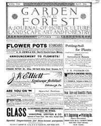 Garden and Forest Volume 8 Issue 394 Sep... by Charles S. Sargent