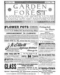 Garden and Forest Volume 8 Issue 395 Sep... by Charles S. Sargent