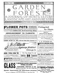 Garden and Forest Volume 8 Issue 396 Sep... by Charles S. Sargent