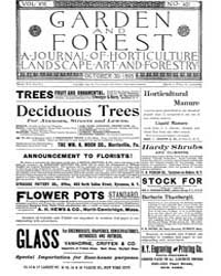 Garden and Forest Volume 8 Issue 401 Oct... by Charles S. Sargent