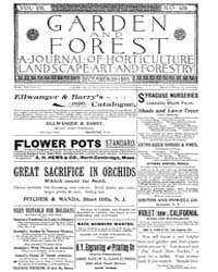 Garden and Forest Volume 8 Issue 409 Dec... by Charles S. Sargent