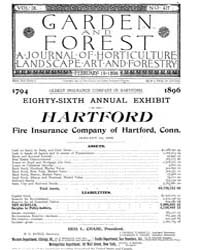 Garden and Forest Volume 9 Issue 417 Feb... by Charles S. Sargent