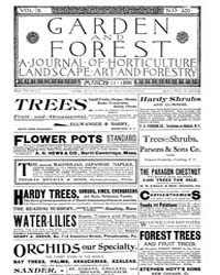 Garden and Forest Volume 9 Issue 420 Mar... by Charles S. Sargent