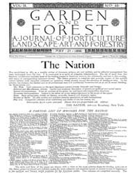 Garden and Forest Volume 9 Issue 431 May... by Charles S. Sargent