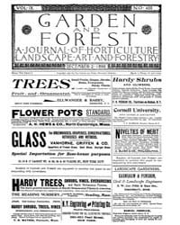Garden and Forest Volume 9 Issue 458 Dec... by Charles S. Sargent