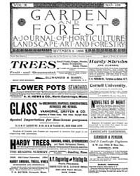 Garden and Forest Volume 9 Issue 459 Dec... by Charles S. Sargent