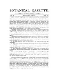 Botanical Gazette : 1877 ; Aug. No. 10 V... Volume Vol. 2 by Ruddat, M.