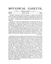 Botanical Gazette : 1879 ; May No. 5 Vol... Volume Vol. 4 by Ruddat, M.