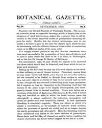 Botanical Gazette : 1879 ; Sep. No. 9 Vo... Volume Vol. 4 by Ruddat, M.